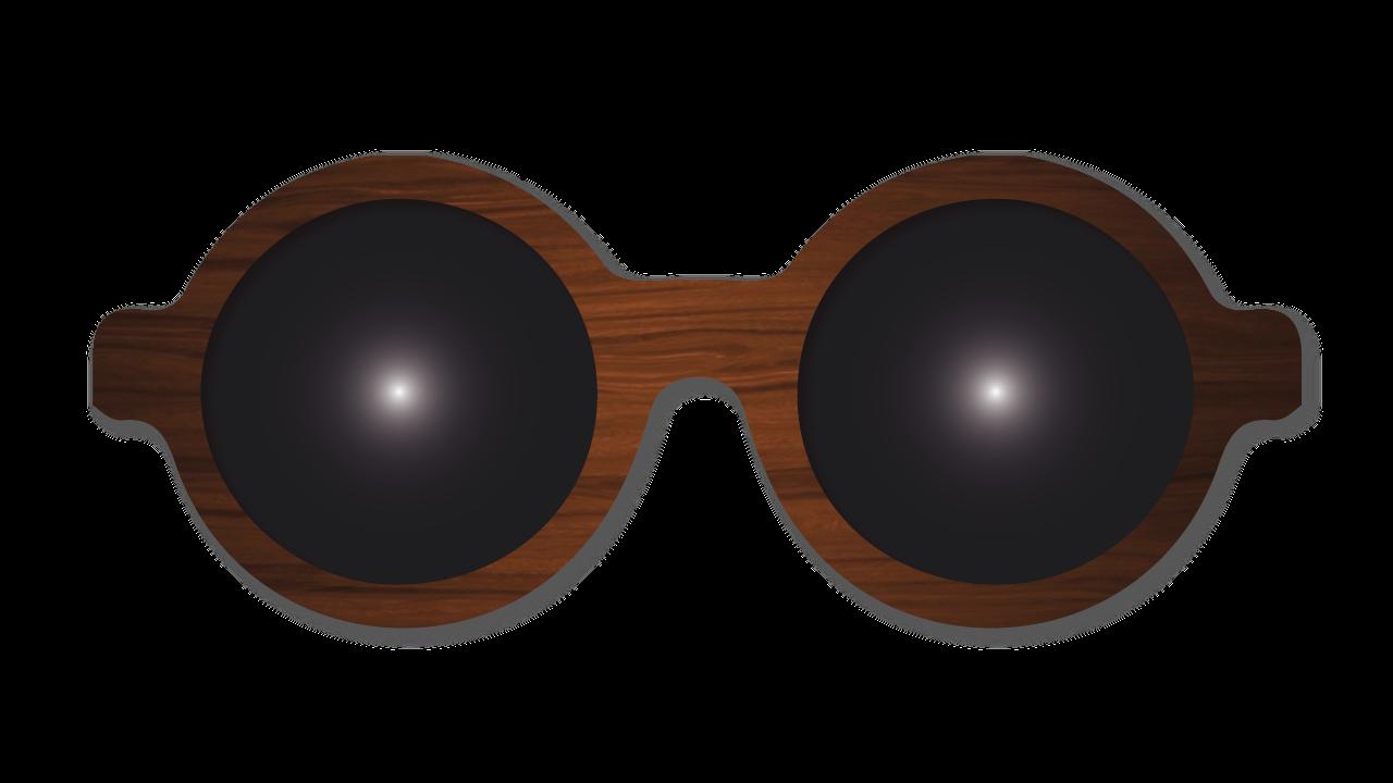 bd25ca08a8 Gafas de madera Cuadradas